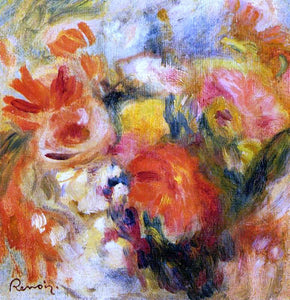 Pierre Auguste Renoir Flower Study - Canvas Art Print