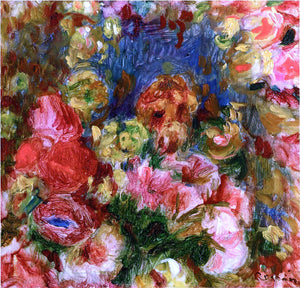 Pierre Auguste Renoir Flowers - Canvas Art Print