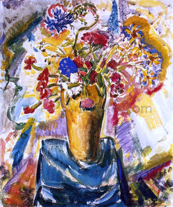 Alfred Henry Maurer Flowers in a Vase - Canvas Art Print