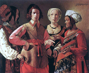 Georges De La Tour Fortune Teller - Canvas Art Print