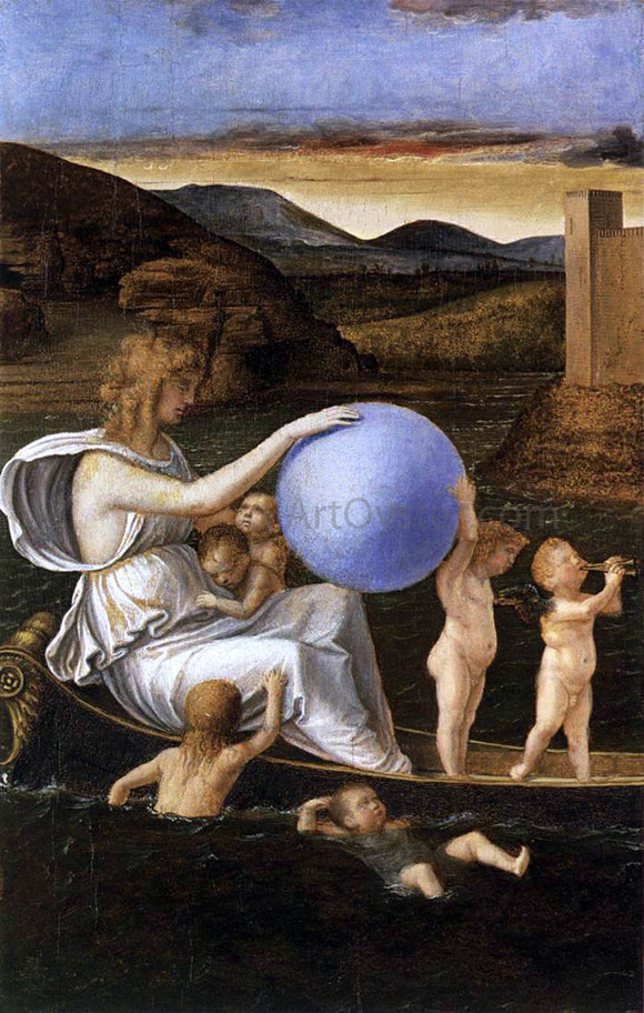 Giovanni Bellini Four Allegories: Fortune (or Melancholy) - Canvas Art Print