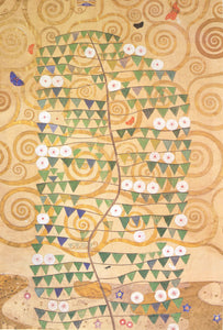 Gustav Klimt Frieze of the Villa Stoclet in Brussels Right Part of the Tree of Life - Canvas Art Print