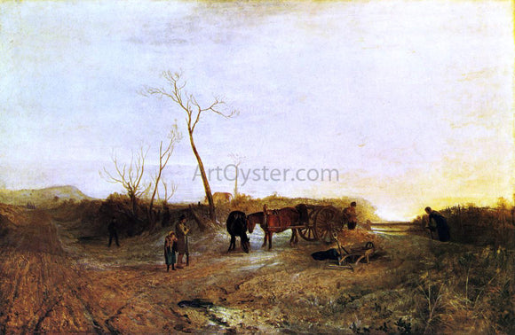 Joseph William Turner Frosty Morning - Canvas Art Print