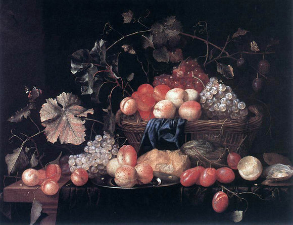 Theodoor Aenvanck Fruit - Canvas Art Print