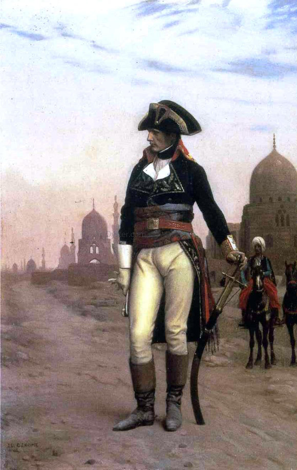 Jean-Leon Gerome General Bonaparte in Cairo - Canvas Art Print