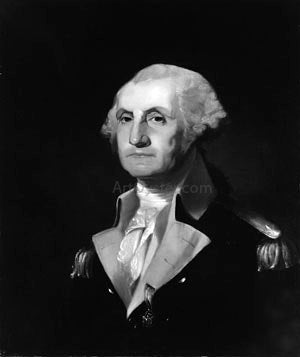 Thomas Sully George Washington - Canvas Art Print