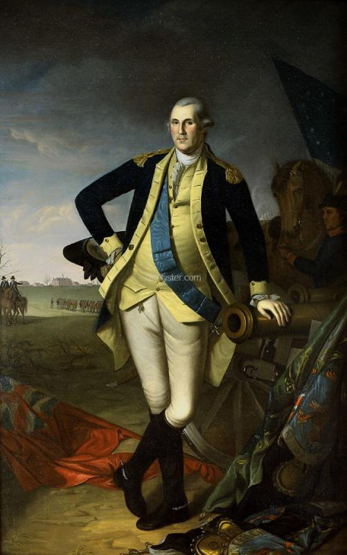 Charles Willson Peale George Washington at Princeton - Canvas Art Print