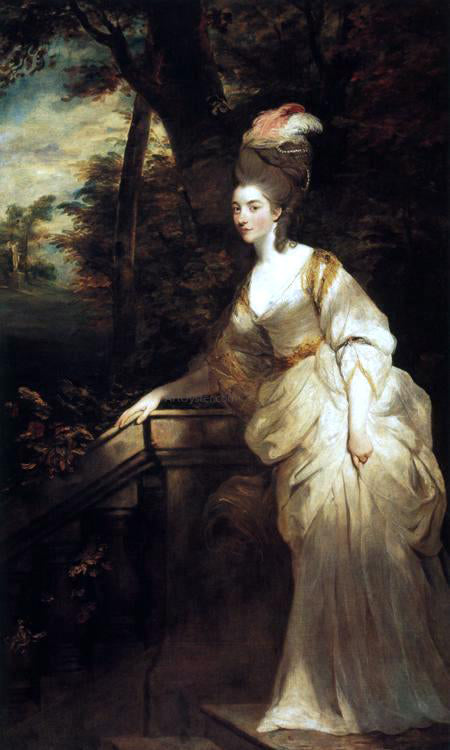 Sir Joshua Reynolds Georgiana, Duchess of Devonshire - Canvas Art Print