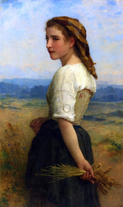 William Adolphe Bouguereau Gleaners - Canvas Art Print