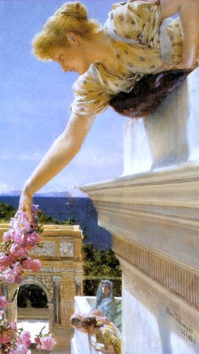 Sir Lawrence Alma-Tadema God Speed! - Canvas Art Print