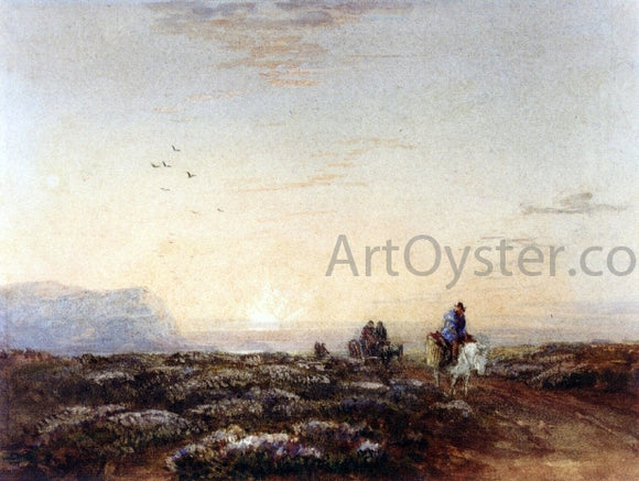 David Cox Great Orme Head from the Mouth of the Conwy, North Wales - Canvas Art Print