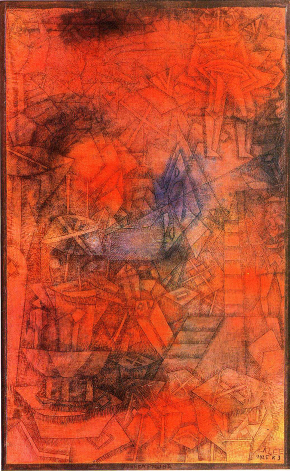 Paul Klee Groynes - Canvas Art Print