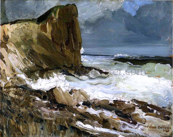 George Wesley Bellows Gull Rock and Whitehead - Canvas Art Print