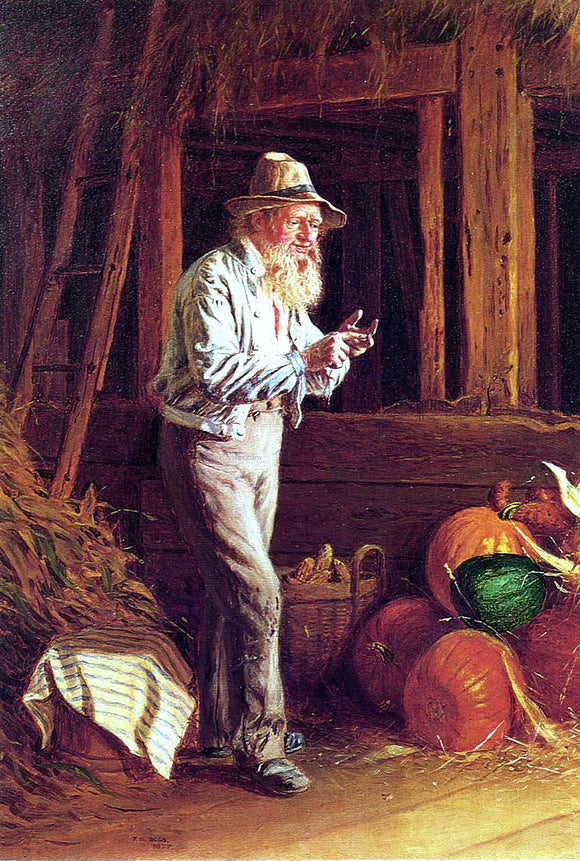 Thomas Waterman Wood Harvest Time - Canvas Art Print