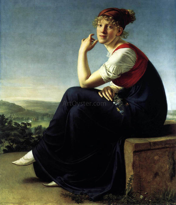 Christian Gottlieb Schick Heinrike Dannecker - Canvas Art Print