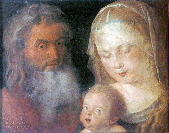 Albrecht Durer Holy Family - Canvas Art Print