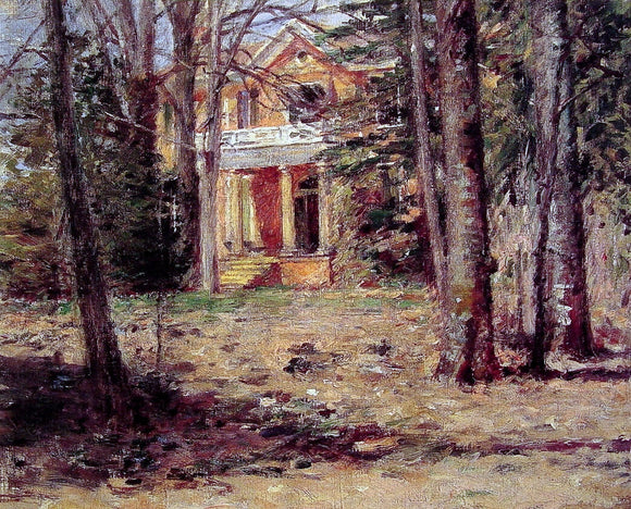 Theodore Robinson House in Virginia - Canvas Art Print