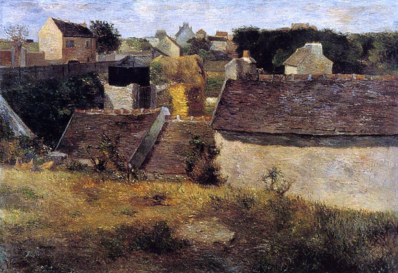 Paul Gauguin Houses, Vaugirard - Canvas Art Print