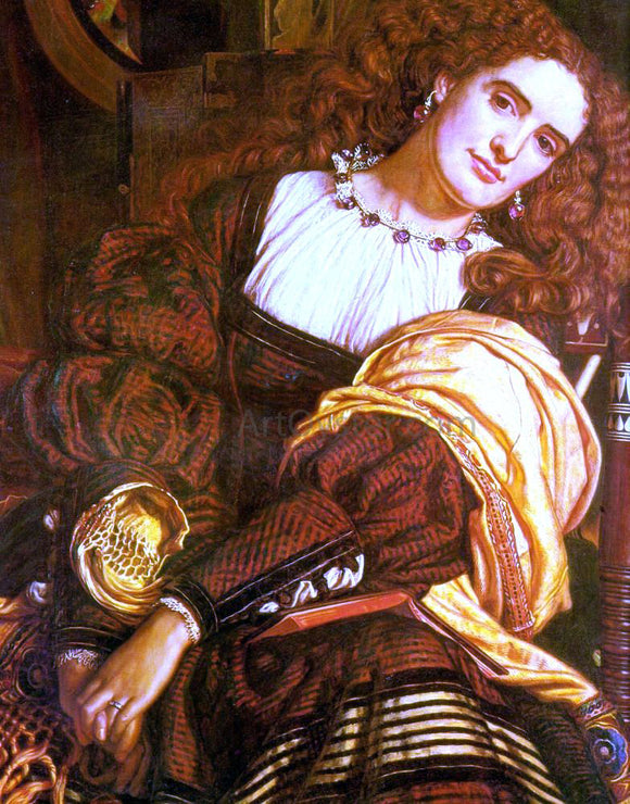 William Holman Hunt Il Dolce Far Niente - Canvas Art Print