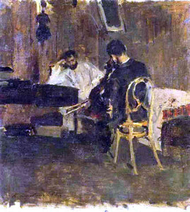 Constantin Alexeevich Korovin In a Room - Canvas Art Print