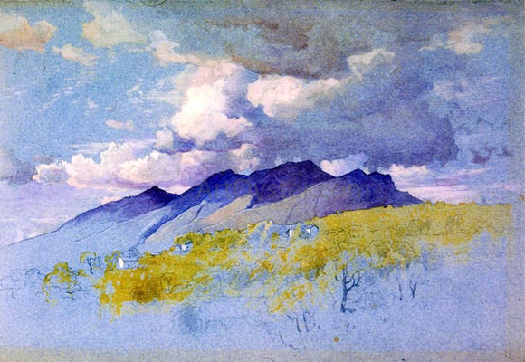 William Stanley Haseltine In the Appenines - Canvas Art Print