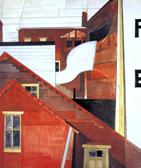 Charles Demuth In the Province - Canvas Art Print