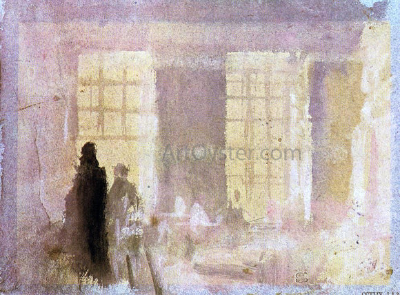 Joseph William Turner Interior at Petworth - Canvas Art Print