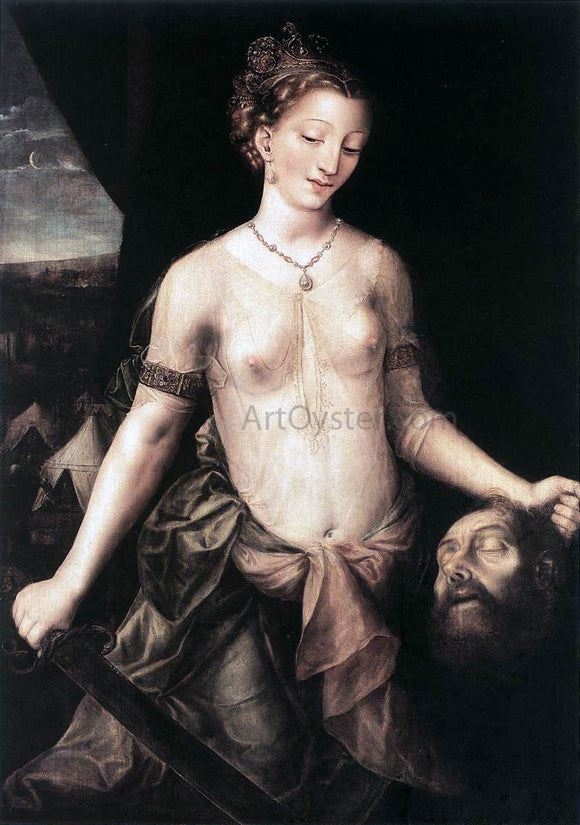 Jan Massys Judith - Canvas Art Print