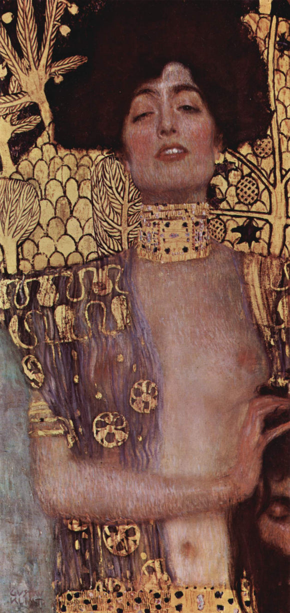 Gustav Klimt Judith and the Head of Holofernes - Canvas Art Print