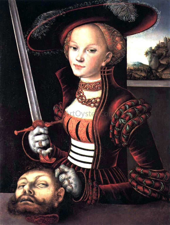 The Elder Lucas Cranach Judith Victorious - Canvas Art Print