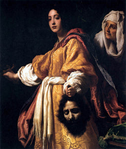 Cristofano Allori Judith with the Head of Holofernes - Canvas Art Print