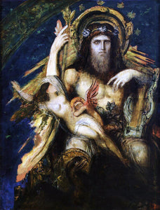 Gustave Moreau Jupiter and Semele - Canvas Art Print