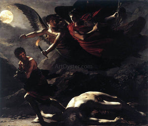 Pierre Paul Prudhon Justice and Divine Vengeance Pursuing Crime - Canvas Art Print