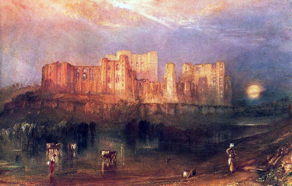 Joseph William Turner Kenilworth Castle - Canvas Art Print