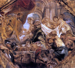 Peter Paul Rubens King Solomon and the Queen of Sheba - Canvas Art Print