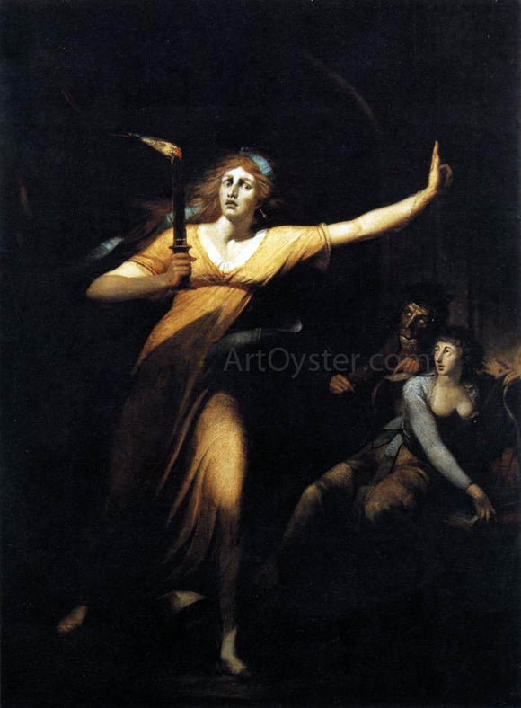 John Henry Fuseli Lady Macbeth - Canvas Art Print