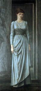 Sir Edward Burne-Jones Lady Windsor - Canvas Art Print