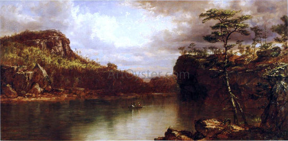Daniel Huntington Lake Mohonk - Canvas Art Print