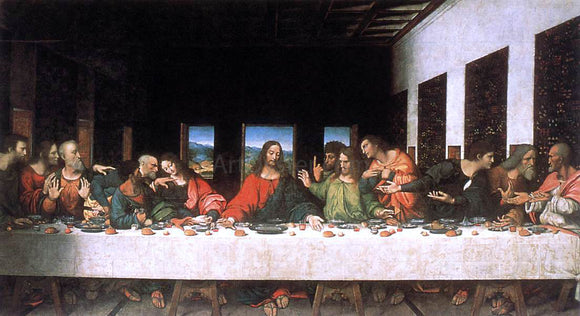 Leonardo Da Vinci Last Supper - Canvas Art Print