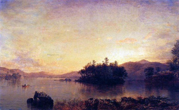 Daniel Huntington Late Afternoon on the Susquehanna - Canvas Art Print