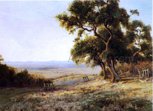 Julian Onderdonk Late Afternoon, Valley of the Leon - Canvas Art Print