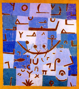 Paul Klee Legend of the Nile - Canvas Art Print