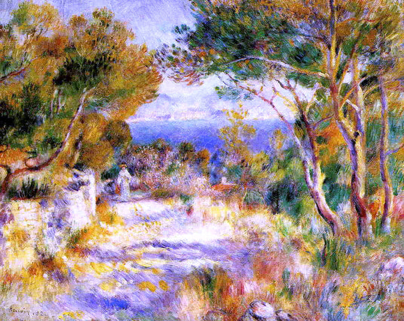 Pierre Auguste Renoir L'Estaque - Canvas Art Print