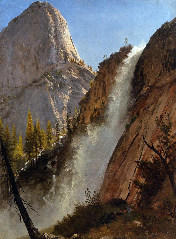 Albert Bierstadt Liberty Cam, Yosemite - Canvas Art Print