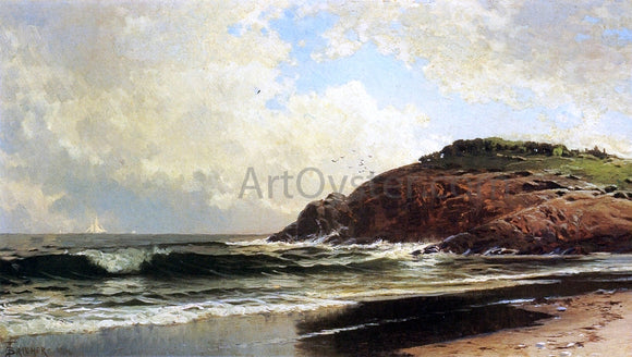 Alfred Thompson Bricher Light Winds - Canvas Art Print