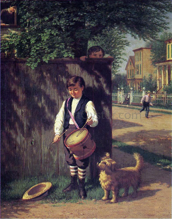 Samuel S Carr Little Drummer Boy - Canvas Art Print