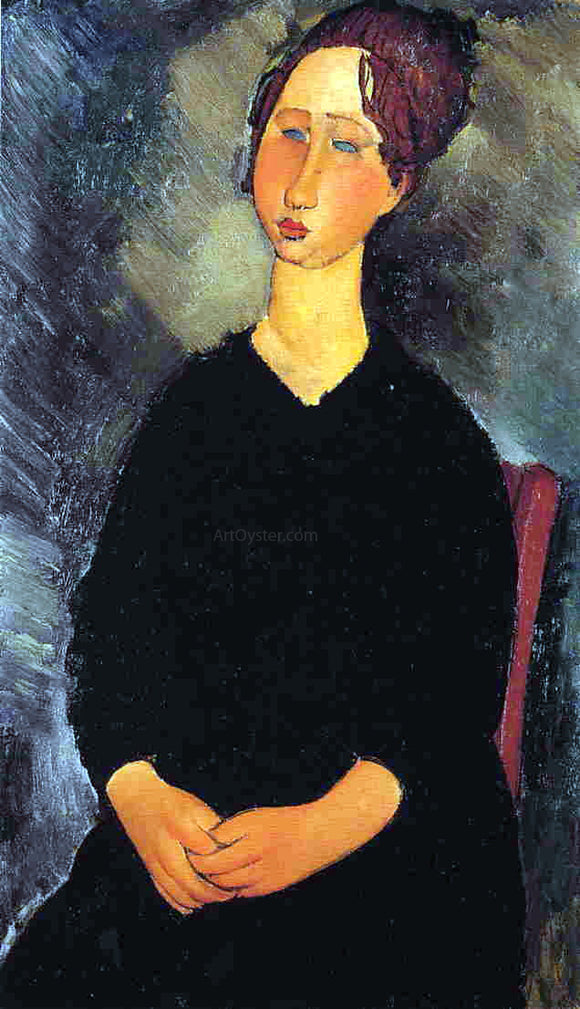 Amedeo Modigliani Little Serving Woman - Canvas Art Print