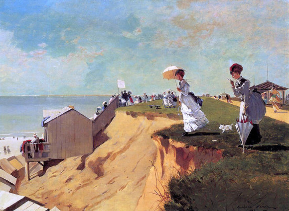 Winslow Homer Long Branch, New Jersey - Canvas Art Print