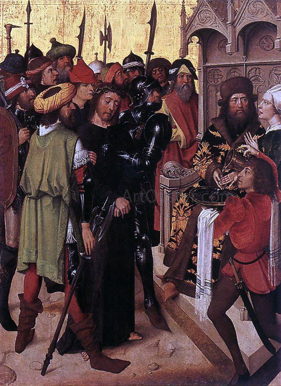 Master of the Lyversberg Passion Lyversberg Passion (detail) - Canvas Art Print