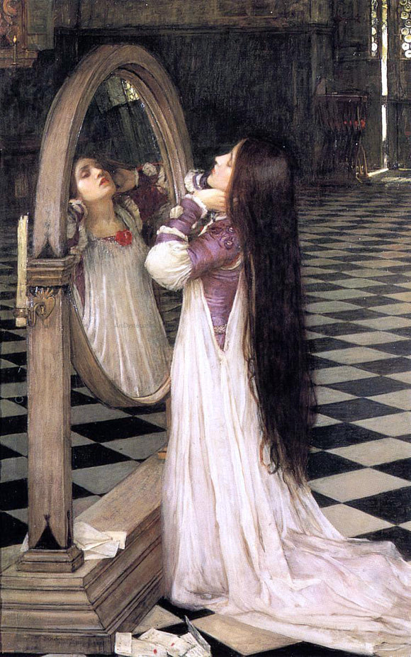 John William Waterhouse Mariana in the South - Canvas Art Print